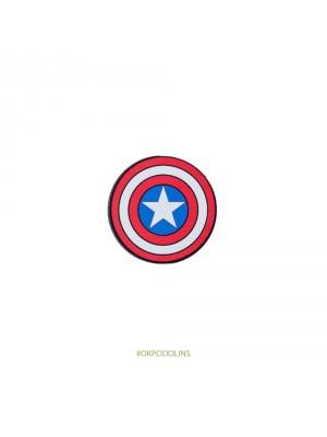 Значок Щит Капитан Америка