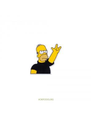 Брошь Гомер