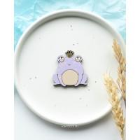 Брошь Принцесса-Лягушка