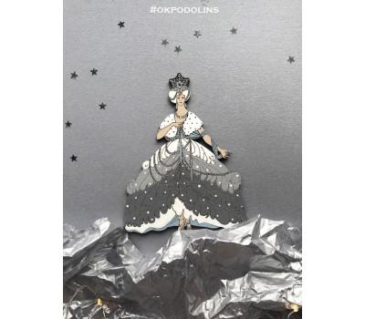 Елочная игрушка Снежная Королева