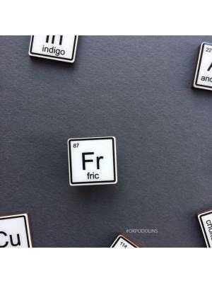 Брошь Химический Элемент Fric