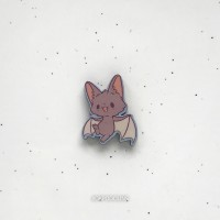 Брошь Летучий мышонок