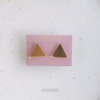 Сережки Треугольники зеркальные