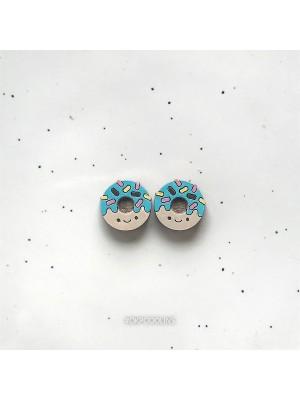 Сережки Пончики