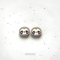 Сережки Ленивцы