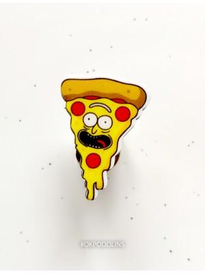 Брошь Кусочек пиццы
