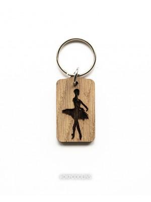 Брелок с гравировкой Балерина