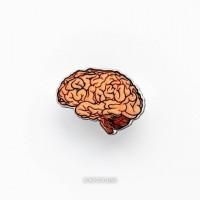 Брошь Мозг