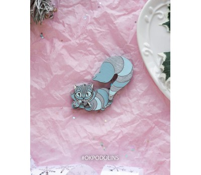 """Елочная игрушка """"Чеширский кот из Алисы в Стране Чудес"""""""