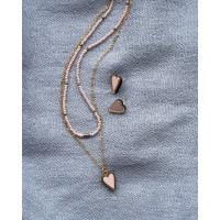 Набор колье и сережки из коллекции Преданное Сердце