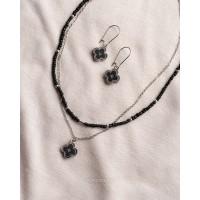 Набор колье и сережки из коллекции Clover Classik
