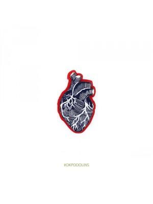 Брошь Сердце анатомичское