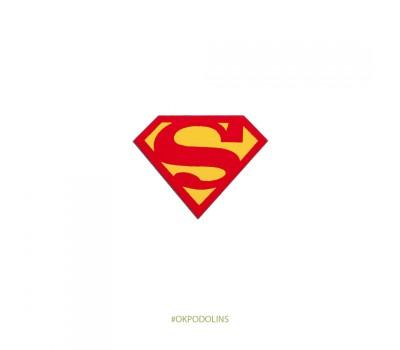 Брошь Супермен
