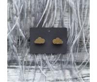 Сережки Сережки Тучки золотые