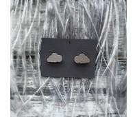 Сережки Тучки серебряные