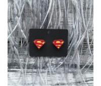 Сережки супермены