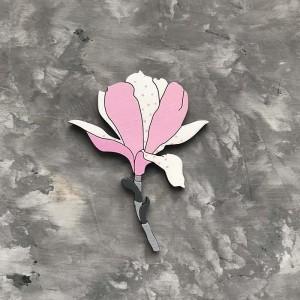 "Брошь ""Магнолия (цветок)"""