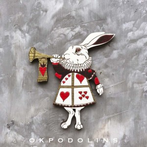 Брошь Кролик из Алисы