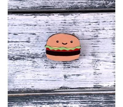 Брошь Гамбургер