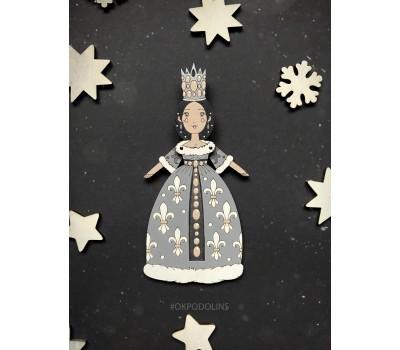 Ёлочная игрушка Принцесса