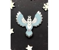 Ёлочная игрушка Птица с короной