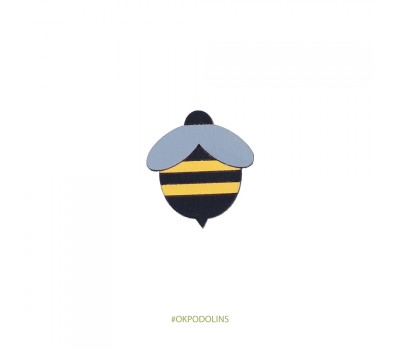 Брошь Пчелка