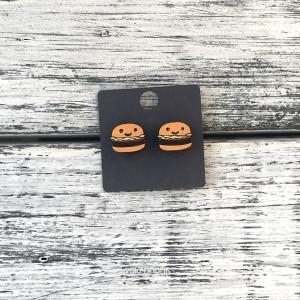 Сережки Гамбургеры