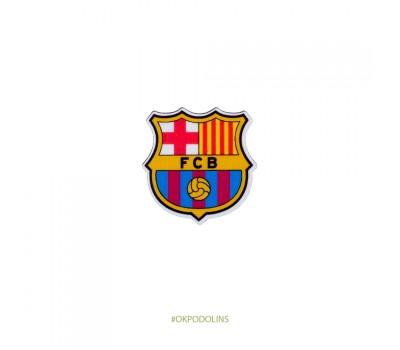 Брошь Футбольные команды Барселона