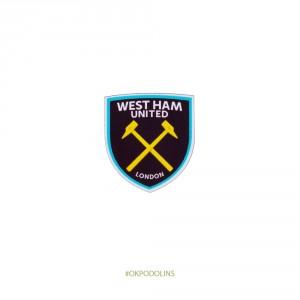 Брошь Вест Хэм Юнайтед