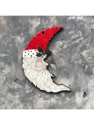 "Елочная игрушка ""Дед Мороз-месяц"""