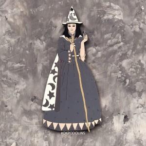 "Елочная игрушка ""Ведьмочка"""