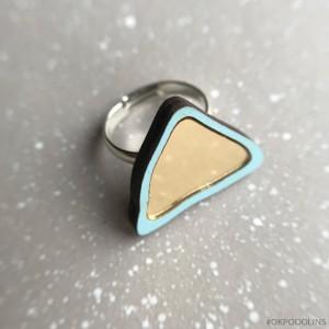 Кольцо Пирамидка