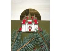 Елочная игрушка Замок Снежной Королевы