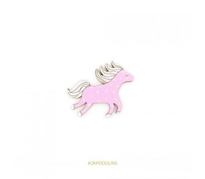 Брошь Сказочная лошадка