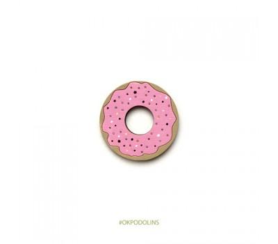 Брошь Пончик