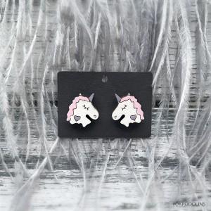 Сережки Единорожки