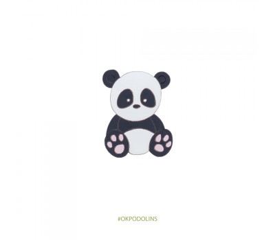 Брошь Панда большая